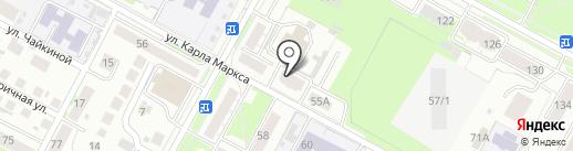 Стройинвестпроект на карте Бердска