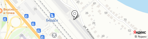 Автосервис для автомобилей Peugeot, Citroen, Subaru на карте Бердска