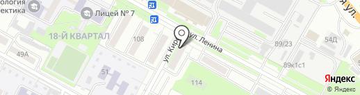 Отдел судебных приставов по г. Бердску на карте Бердска