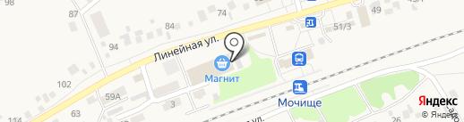 Ритуальный салон на карте Мочища