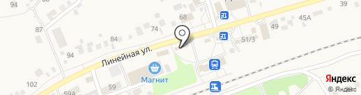 Продуктовый магазин на карте Мочища