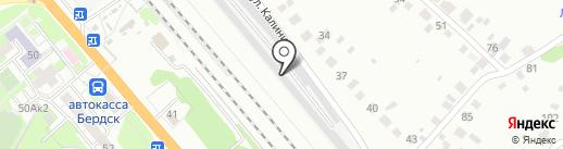Компания по удалению вмятин без покраски на карте Бердска