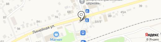 Магазин бытовой химии и автомасел на карте Мочища