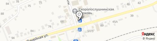 Киоск фастфудной продукции на карте Мочища
