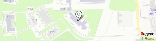 Институт лазерной физики СО РАН на карте Новосибирска