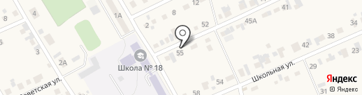Авазар на карте Мочища