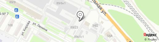 СкрасСибирь на карте Бердска