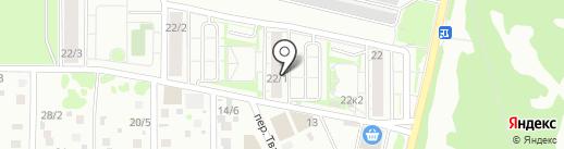 Магазин детских товаров на карте Новосибирска