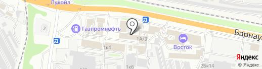 Верный выбор на карте Бердска