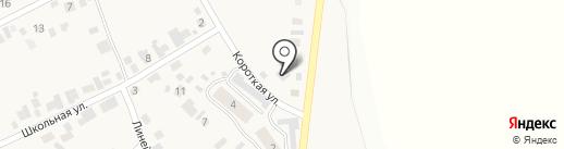 У дороги на карте Мочища