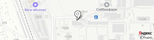 Умград на карте Бердска
