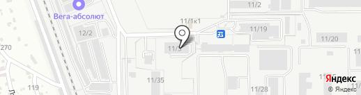 Русь на карте Бердска