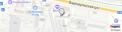 Бастион на карте Бердска