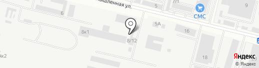 Борихинский на карте Бердска