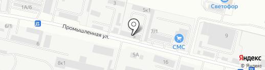 Салют на карте Бердска