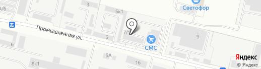 Модуль на карте Бердска