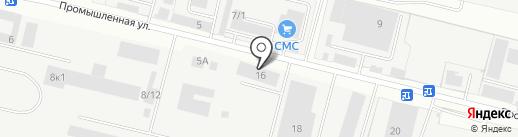 Строительные системы на карте Бердска