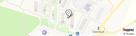 Натяжные потолки Сибири на карте Октябрьского