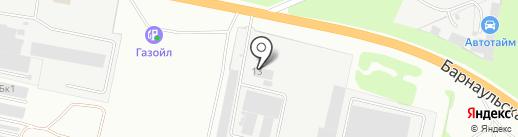 Чалдон на карте Бердска