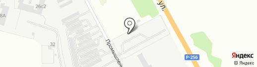 АВТОЛИГА54 на карте Бердска