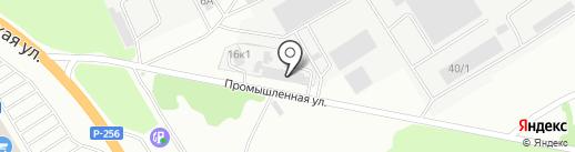 ЗВК на карте Бердска