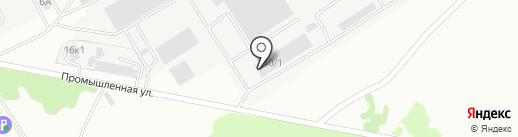 БЕРДСКСТРОЙКОМПЛЕКТ на карте Бердска