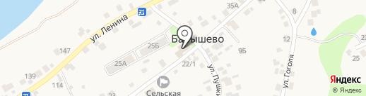 Фасон на карте Барышево