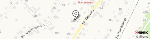 Сфера на карте Барышево