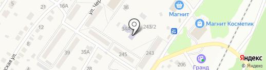 Елочка на карте Барышево