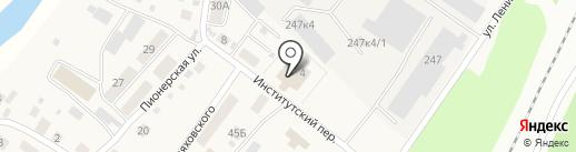 Радуга на карте Барышево
