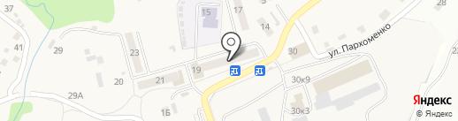 Лилия на карте Двуречья