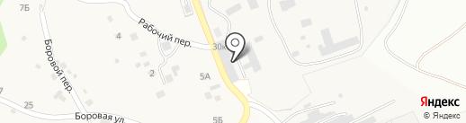Професоръ Бутаковъ на карте Двуречья