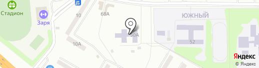 Детский сад №22, Родничок на карте Искитима