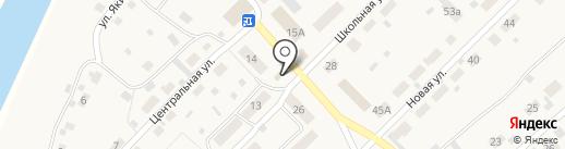 Магазин одежды и товаров для дома на карте Железнодорожного