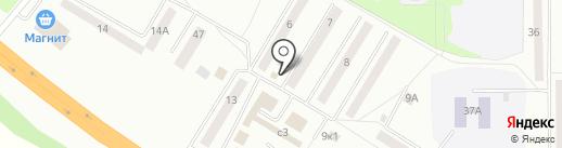 Продуктовый магазин на карте Искитима