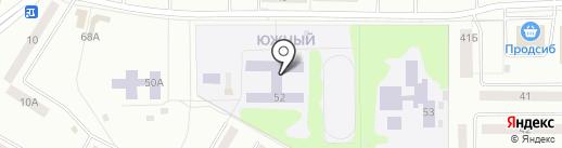 Средняя общеобразовательная школа №11 на карте Искитима