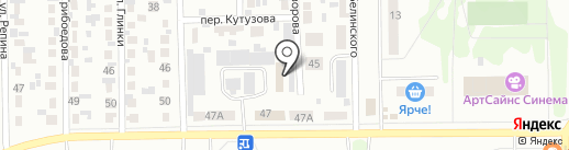 Торговая фирма на карте Искитима