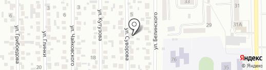 Мебельная мастерская на карте Искитима