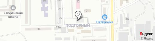 Алесик на карте Искитима