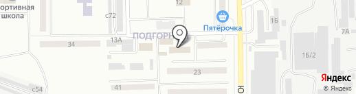 ЖЭУ №1 на карте Искитима