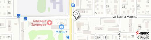 Парус на карте Искитима