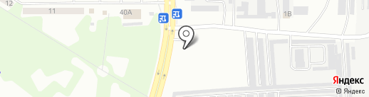 АГЗС ГазОйл на карте Искитима