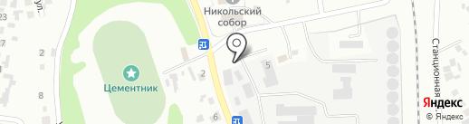 Искитимское ХПП на карте Искитима