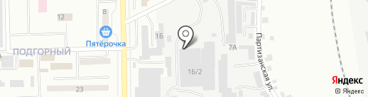 Автокомплекс на карте Искитима