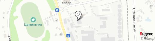 Искитимское ХПП, ЗАО на карте Искитима