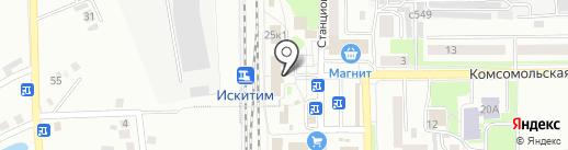 Буфет на карте Искитима