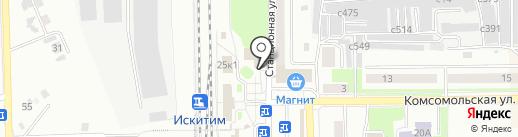 Telepay на карте Искитима