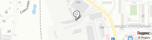 Автострой на карте Искитима