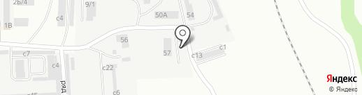 АБАЗ-СИБИРЬ на карте Искитима