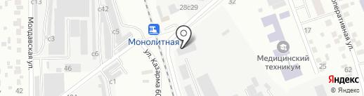 Искитиммаш на карте Искитима